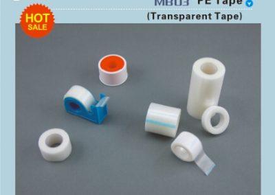 ПЕ хипоалергичен пластир MB03