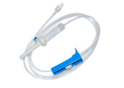 инфузионна система с пластмасова игла
