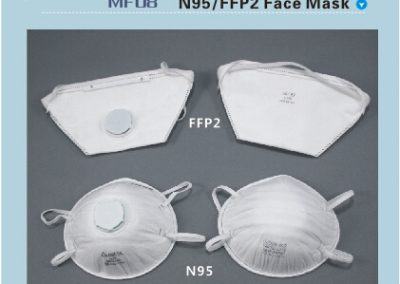 маски с висок слас на защита MF08