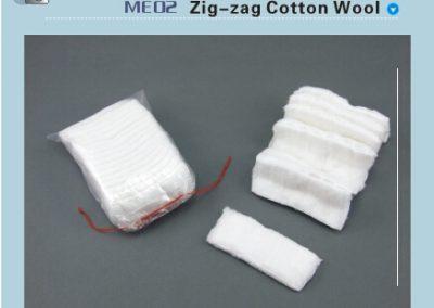 памук зиг-заг ME02
