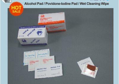 спиртни и йодни кърпички MD11