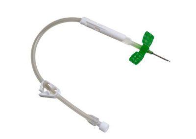 фистулна игла със защитен механизъм